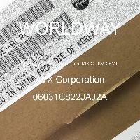 06031C822JAJ2A - AVX Corporation - 多層陶瓷電容器MLCC  -  SMD / SMT