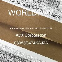 08053C474KAJ2A - AVX Corporation - 多層陶瓷電容器MLCC  -  SMD / SMT