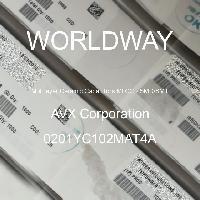 0201YC102MAT4A - AVX Corporation - 多层陶瓷电容器MLCC-SMD/SMT