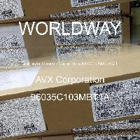 06035C103MBT1A - AVX Corporation - 多层陶瓷电容器MLCC-SMD/SMT