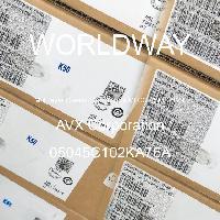 05045C102KA76A - AVX Corporation - 多层陶瓷电容器MLCC - SMD/SMT