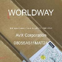 08055A511MAT2A - AVX Corporation - 多层陶瓷电容器MLCC - SMD/SMT