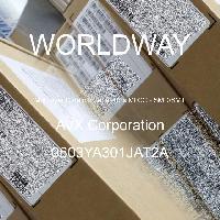 0603YA301JAT2A - AVX Corporation - 多层陶瓷电容器MLCC - SMD/SMT