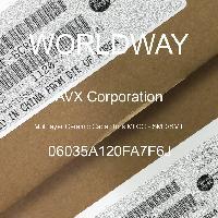 06035A120FA7F6J - AVX Corporation - 多层陶瓷电容器MLCC - SMD/SMT