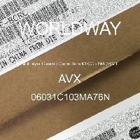 06031C103MA76N - AVX Corporation - 多层陶瓷电容器MLCC - SMD/SMT