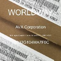 06033G104MA7F6C - AVX Corporation - 多层陶瓷电容器MLCC - SMD/SMT