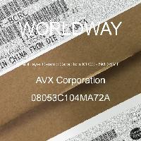 08053C104MA72A - AVX Corporation - 多层陶瓷电容器MLCC - SMD/SMT