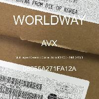 08055A271FA12A - AVX Corporation - 多层陶瓷电容器MLCC - SMD/SMT