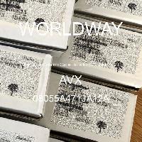 08055A471JA12A - AVX Corporation - 多层陶瓷电容器MLCC - SMD/SMT