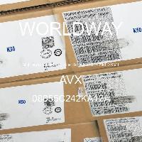 08055C242KA12A - AVX Corporation - 多层陶瓷电容器MLCC - SMD/SMT