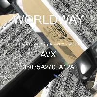 06035A270JA12A - AVX Corporation - 多层陶瓷电容器MLCC - SMD/SMT