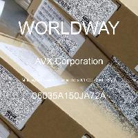06035A150JA72A - AVX Corporation - 多层陶瓷电容器MLCC - SMD/SMT