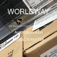 08055C104KA72A - AVX Corporation - 多层陶瓷电容器MLCC - SMD/SMT
