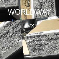 08051A470KA12A - AVX Corporation - 多层陶瓷电容器MLCC - SMD/SMT