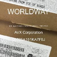 06035A151KA7F6J - AVX Corporation - 多层陶瓷电容器MLCC - SMD/SMT