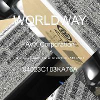 04023C103KA76A - AVX Corporation - 多层陶瓷电容器MLCC - SMD/SMT