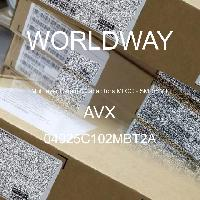 04025C102MBT2A - AVX Corporation - 多层陶瓷电容器MLCC - SMD/SMT