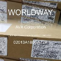 02013A180GA72A - AVX Corporation - 多层陶瓷电容器MLCC - SMD/SMT