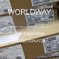 04023C102KA72A - AVX Corporation - 多层陶瓷电容器MLCC - SMD/SMT