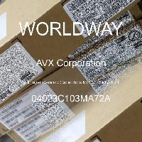 04023C103MA72A - AVX Corporation - 多层陶瓷电容器MLCC - SMD/SMT