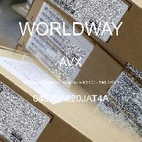 04025A820JAT4A - AVX Corporation - 多层陶瓷电容器MLCC - SMD/SMT