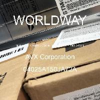 04025A150JA72A - AVX Corporation - 多层陶瓷电容器MLCC - SMD/SMT