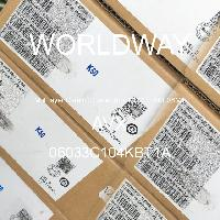 06033C104KBT1A - AVX Corporation - 多层陶瓷电容器MLCC - SMD/SMT
