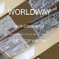 08055C271KBT1A - AVX Corporation - 多层陶瓷电容器MLCC - SMD/SMT