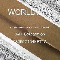 08055C104KBT1A - AVX Corporation - 多层陶瓷电容器MLCC - SMD/SMT