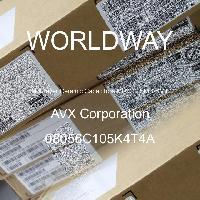 08056C105K4T4A - AVX Corporation - 多层陶瓷电容器MLCC - SMD/SMT