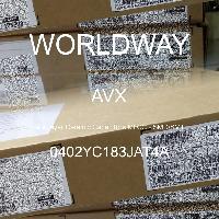 0402YC183JAT4A - AVX Corporation - 多层陶瓷电容器MLCC - SMD/SMT