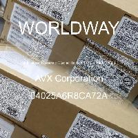 04025A6R8CA72A - AVX Corporation - 多层陶瓷电容器MLCC - SMD/SMT