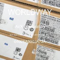 04025A330JA72A - AVX Corporation - 多层陶瓷电容器MLCC - SMD/SMT