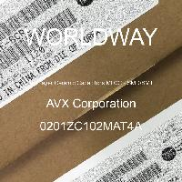 0201ZC102MAT4A - AVX Corporation - 多层陶瓷电容器MLCC - SMD/SMT