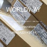 08055A221KBT1A - AVX Corporation - 多层陶瓷电容器MLCC - SMD/SMT