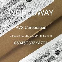 05045C332KA79A - AVX Corporation - 多层陶瓷电容器MLCC - SMD/SMT
