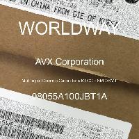 08055A100JBT1A - AVX Corporation - 多层陶瓷电容器MLCC - SMD/SMT