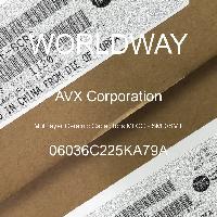06036C225KA79A - AVX Corporation - 多层陶瓷电容器MLCC - SMD/SMT