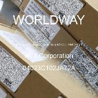04023C102JA72A - AVX Corporation - 多层陶瓷电容器MLCC - SMD/SMT