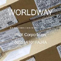 08051A101FAJ4A - AVX Corporation - 多层陶瓷电容器MLCC - SMD/SMT