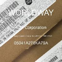05041A270KA79A - AVX Corporation - 多层陶瓷电容器MLCC - SMD/SMT
