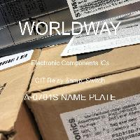 A-0701S NAME PLATE - CIT Relay & Switch - 电子元件IC