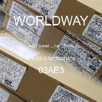 03AE3 - Delta Electronics - 交流电源线滤波器