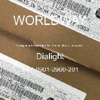 047-0901-2900-201 - Dialight - 面板安装指示器的完整组件