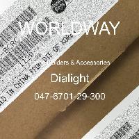 047-6701-29-300 - Dialight - 灯座及配件