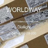 047-3202-29-300 - Dialight - 灯座及配件