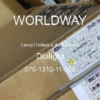 070-1310-11-205 - Dialight - 灯座及配件