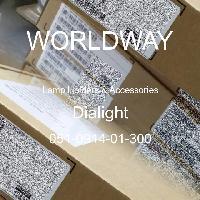 051-0914-01-300 - Dialight - 燈座及配件