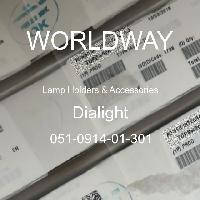 051-0914-01-301 - Dialight - 灯座及配件