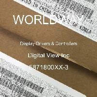5871800XX-3 - Digital View Inc - 顯示驅動程序和控制器